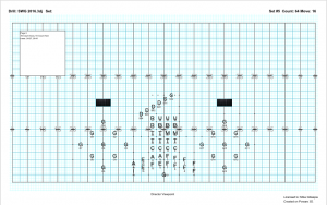 Marching band drill sheet